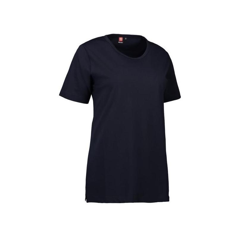PRO Wear Damen T-Shirt 312 von ID / Farbe: navy / 60% BAUMWOLLE 40% POLYESTER -   Wenn Kasack - Dann MEIN-KASACK.de   Ka