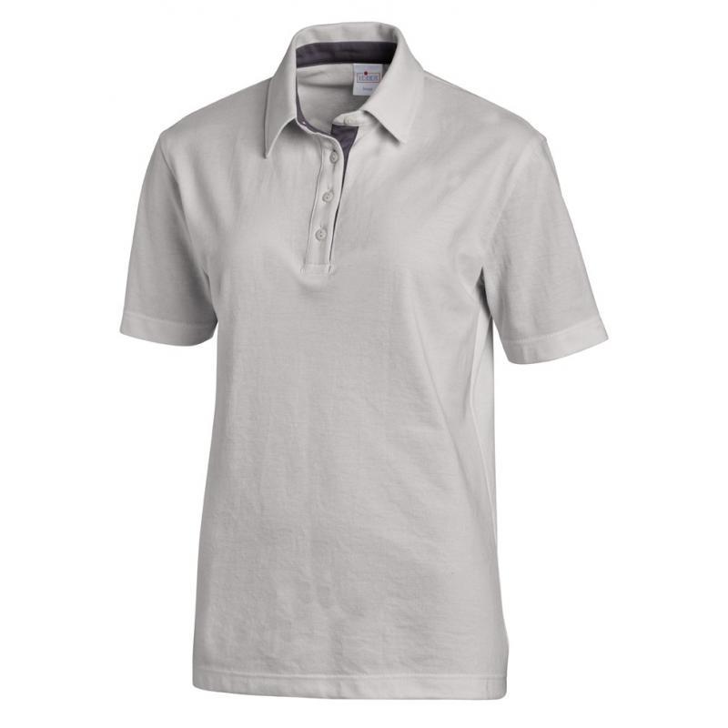 Poloshirt 2637 von LEIBER / Farbe: silbergrau-grau / 95 % Baumwolle 5 % Elasthan - | MEIN-KASACK.de | kasack | kasacks |
