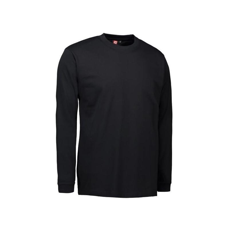 PRO Wear Herren T-Shirt | Langarm 311 von ID / Farbe: schwarz / 60% BAUMWOLLE 40% POLYESTER - | MEIN-KASACK.de