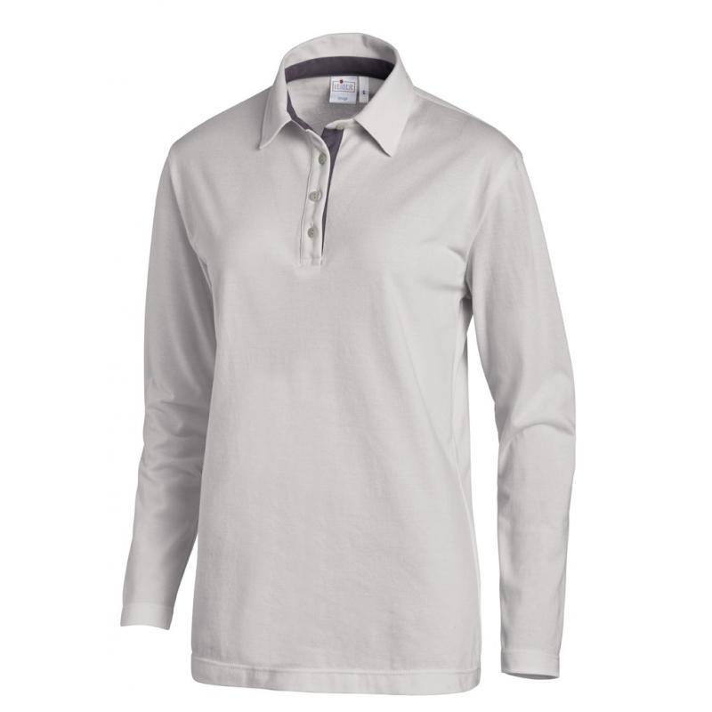 Poloshirt 2638 von LEIBER / Farbe: silbergrau-grau / 95 % Baumwolle 5 % Elasthan - | MEIN-KASACK.de | kasack | kasacks |