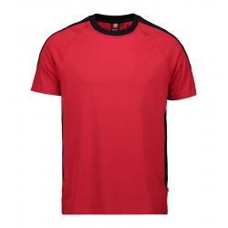 PRO Wear T-Shirt | Kontrast 302 von ID / Farbe: rot / 60% BAUMWOLLE 40% POLYESTER - | MEIN-KASACK.de | kasack | kasacks