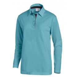 Poloshirt 2638 von LEIBER / Farbe: petrol-marine / 95 % Baumwolle 5 % Elasthan - | MEIN-KASACK.de | kasack | kasacks | k