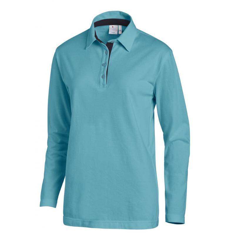 Poloshirt 2638 von LEIBER / Farbe: petrol-marine / 95 % Baumwolle 5 % Elasthan - | Wenn Kasack - Dann MEIN-KASACK.de | K