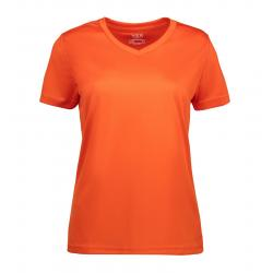 YES Active Damen T-Shirt 2032 von ID / Farbe: orange / 100% POLYESTER - | MEIN-KASACK.de | kasack | kasacks | kassak | b
