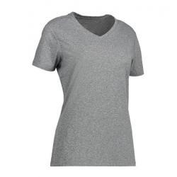 YES Active Damen T-Shirt 2032 von ID / Farbe: grau / 100% POLYESTER - | MEIN-KASACK.de