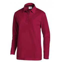Poloshirt 2638 von LEIBER / Farbe: beere-bordeaux / 95 % Baumwolle 5 % Elasthan - | MEIN-KASACK.de | kasack | kasacks |