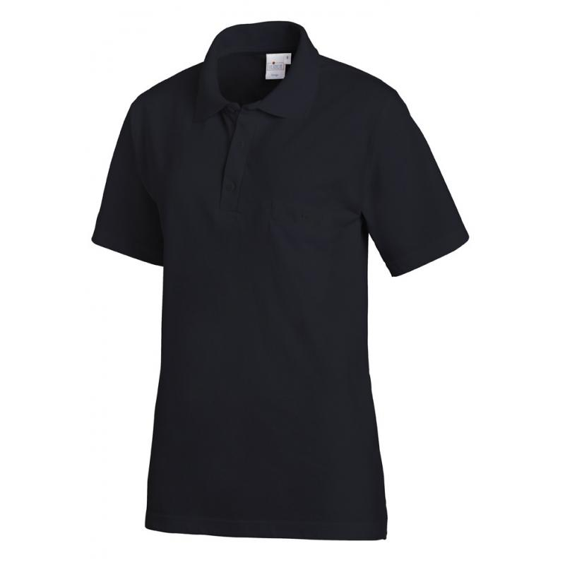 Poloshirt 241 von LEIBER / Farbe: marine / 50% Baumwolle 50% Polyester - | Wenn Kasack - Dann MEIN-KASACK.de | Kasacks f