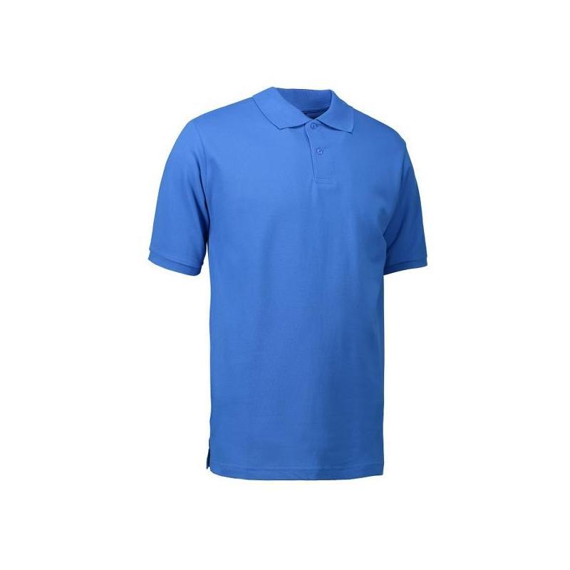 YES Herren Poloshirt 2020 von ID / Farbe: azur / 100% POLYESTER - | Wenn Kasack - Dann MEIN-KASACK.de | Kasacks für die
