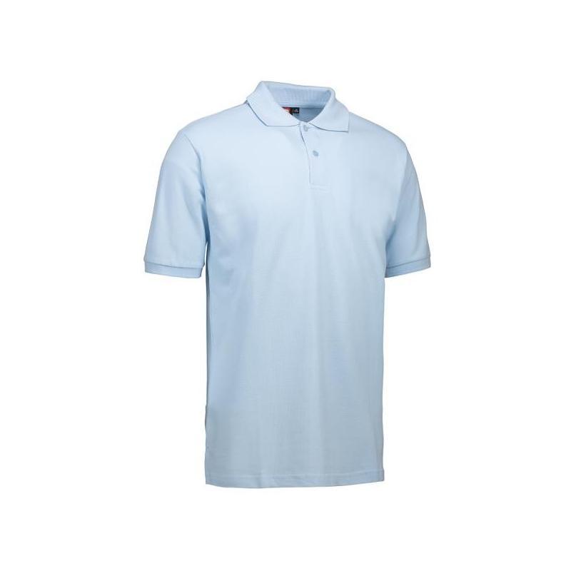 YES Herren Poloshirt 2020 von ID / Farbe: hellblau / 100% POLYESTER - | Wenn Kasack - Dann MEIN-KASACK.de | Kasacks für