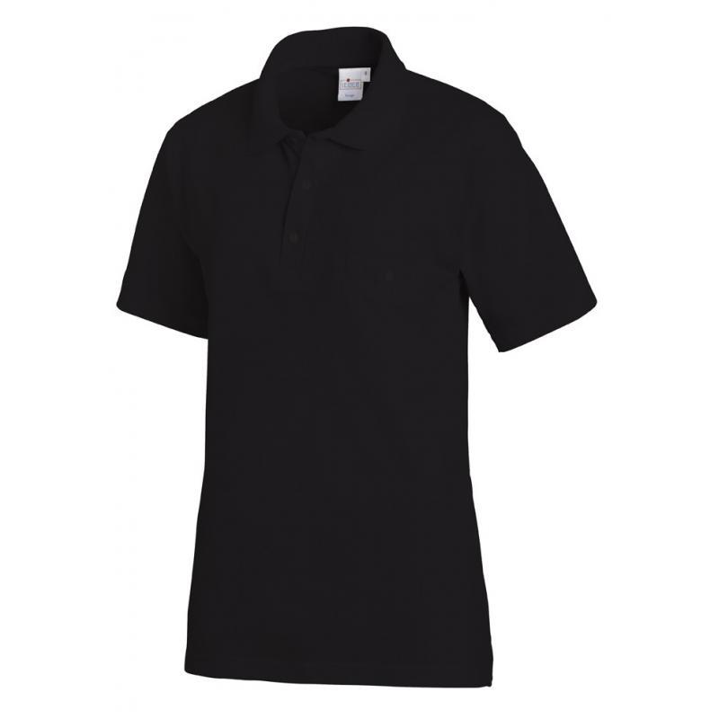 Poloshirt 241 von LEIBER / Farbe: schwarz / 50% Baumwolle 50% Polyester - | Wenn Kasack - Dann MEIN-KASACK.de | Kasacks