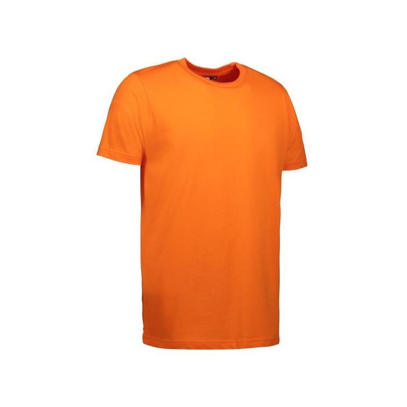 YES Herren T-Shirt  2000 von ID / Farbe: orange / 100% POLYESTER -   Wenn Kasack - Dann MEIN-KASACK.de   Kasacks für die