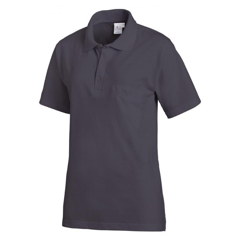 Poloshirt 241 von LEIBER / Farbe: grau / 50% Baumwolle 50% Polyester - | MEIN-KASACK.de | kasack | kasacks | kassak | be