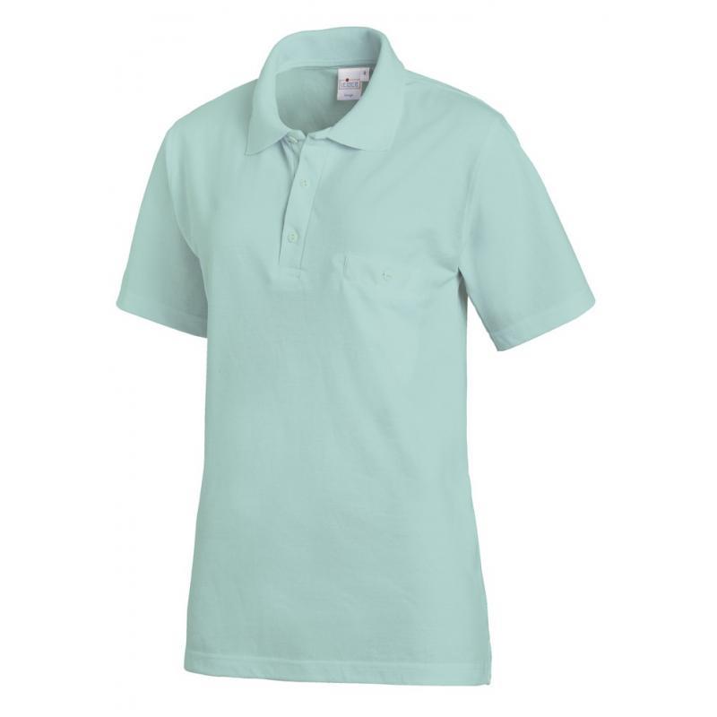 Poloshirt 241 von LEIBER / Farbe:  mint / 50% Baumwolle 50% Polyester - | Wenn Kasack - Dann MEIN-KASACK.de | Kasacks fü