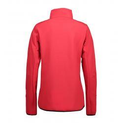 Funktionelle Soft Shell Damenjacke 856 von ID / Farbe: rot / 100% POLYESTER -   MEIN-KASACK.de   kasack   kasacks   kass