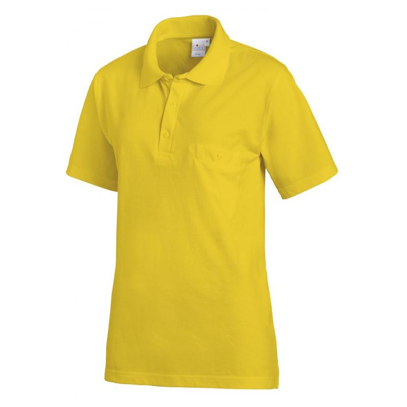 Poloshirt 241 von LEIBER / Farbe: gelb / 50% Baumwolle 50% Polyester - | Wenn Kasack - Dann MEIN-KASACK.de | Kasacks für