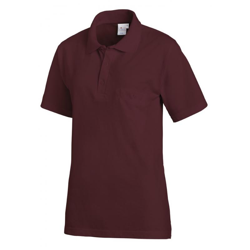 Poloshirt 241 von LEIBER / Farbe: bordeaux / 50% Baumwolle 50% Polyester - | Wenn Kasack - Dann MEIN-KASACK.de | Kasacks