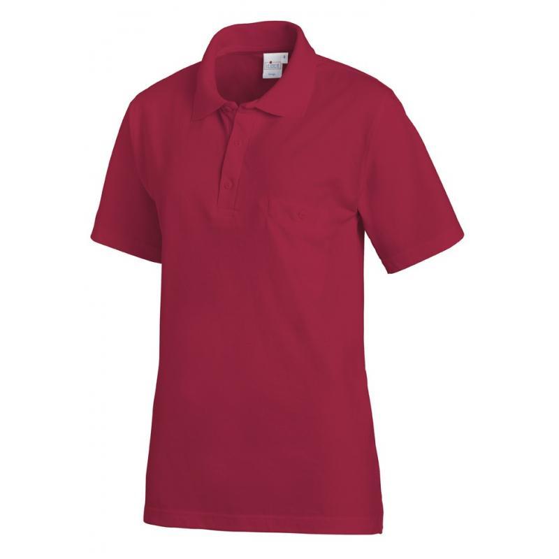 Poloshirt 241 von LEIBER / Farbe: beere / 50% Baumwolle 50% Polyester -   Wenn Kasack - Dann MEIN-KASACK.de   Kasacks fü