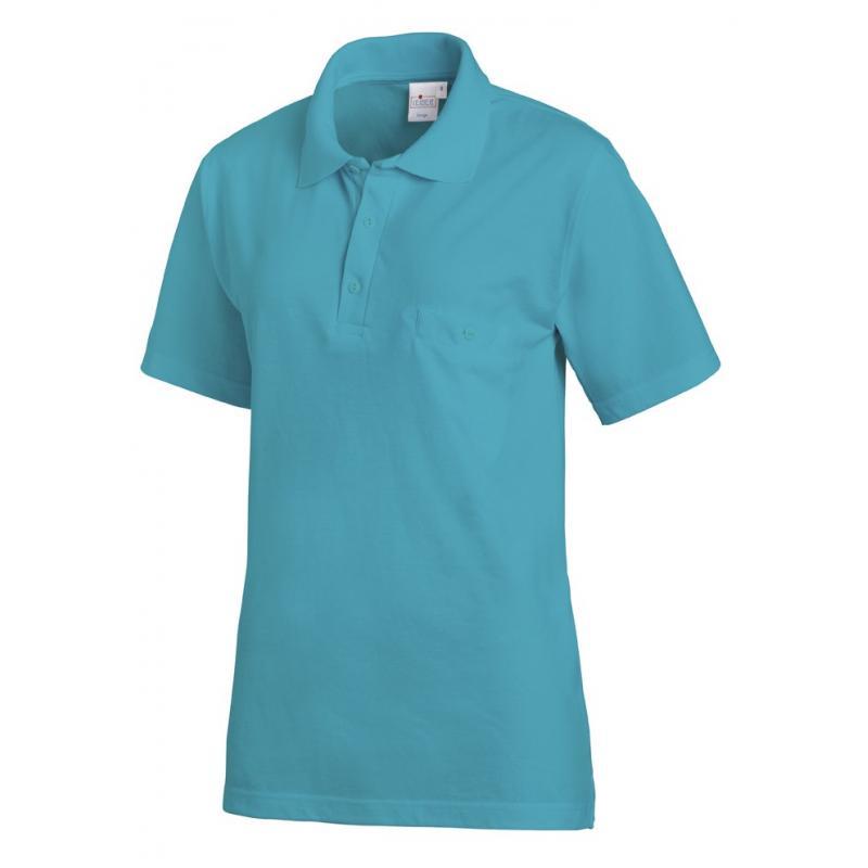 Poloshirt 241 von LEIBER / Farbe: petrol / 50% Baumwolle 50% Polyester - | MEIN-KASACK.de | kasack | kasacks | kassak |