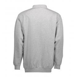 Klassisches Herren Polo-Sweatshirt 601 von ID / Farbe: hellgau / 70% BAUMWOLLE 30% POLYESTER - | MEIN-KASACK.de | kasack