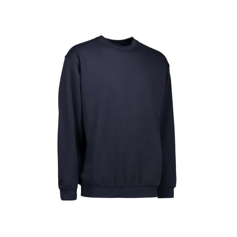 Klassisches Herren Sweatshirt 600 von ID / Farbe: navy  / 70% BAUMWOLLE 30% POLYESTER -   MEIN-KASACK.de   kasack   kasa