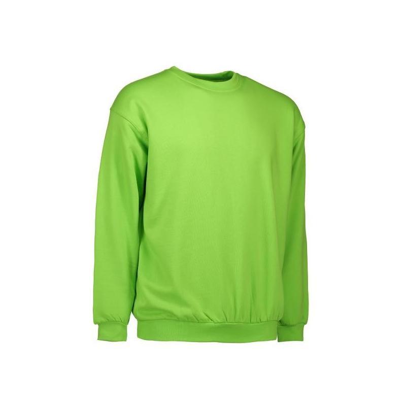 Klassisches Herren Sweatshirt 600 von ID / Farbe: lime  / 70% BAUMWOLLE 30% POLYESTER - | MEIN-KASACK.de | kasack | kasa