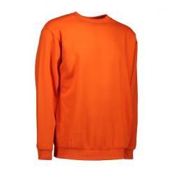 Klassisches Herren Sweatshirt 600 von ID / Farbe: orange / 70% BAUMWOLLE 30% POLYESTER - | MEIN-KASACK.de