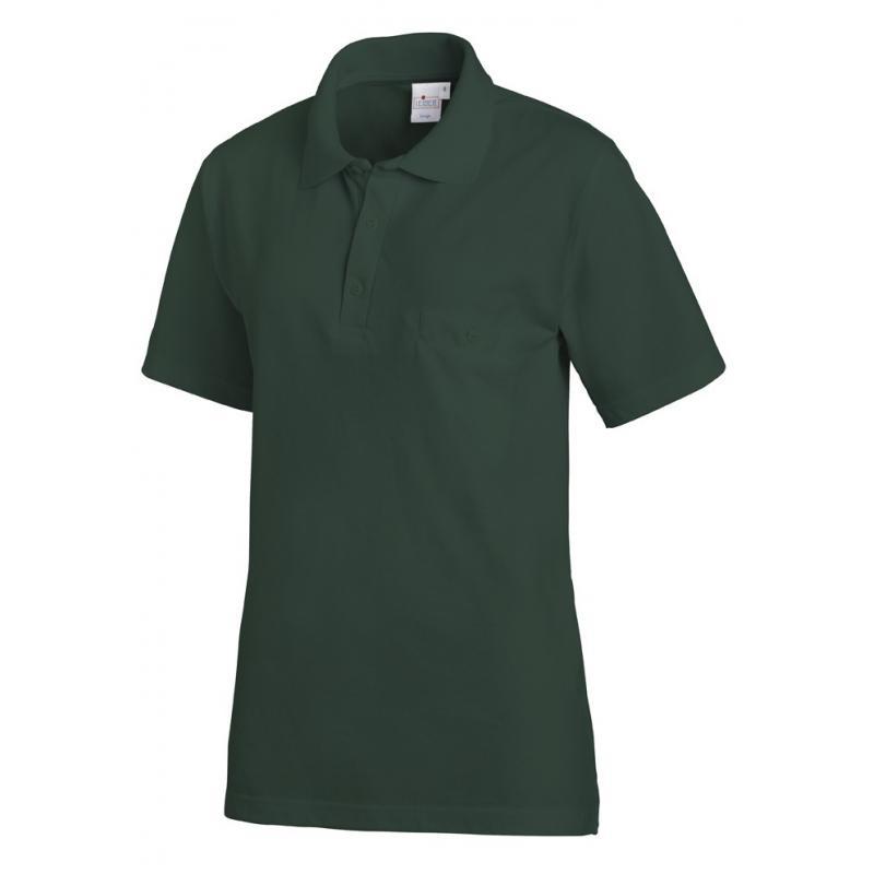 Poloshirt 241 von LEIBER / Farbe: bottle green / 50% Baumwolle 50% Polyester - | Wenn Kasack - Dann MEIN-KASACK.de | Kas
