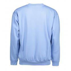 Klassisches Herren Sweatshirt 600 von ID / Farbe: hellblau / 70% BAUMWOLLE 30% POLYESTER - | MEIN-KASACK.de | kasack | k