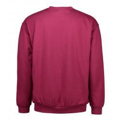 Klassisches Herren Sweatshirt 600 von ID / Farbe: bordeaux / 70% BAUMWOLLE 30% POLYESTER - | MEIN-KASACK.de | kasack | k