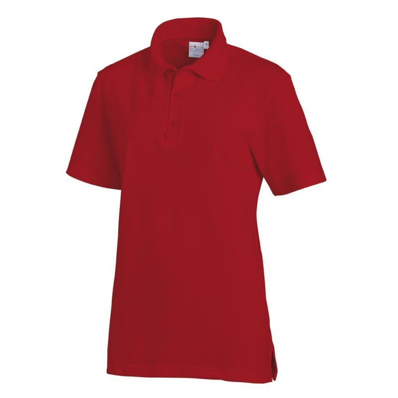 Poloshirt 2515 von LEIBER / Farbe: rot / 50 % Baumwolle 50 % Polyester - | Wenn Kasack - Dann MEIN-KASACK.de | Kasacks f