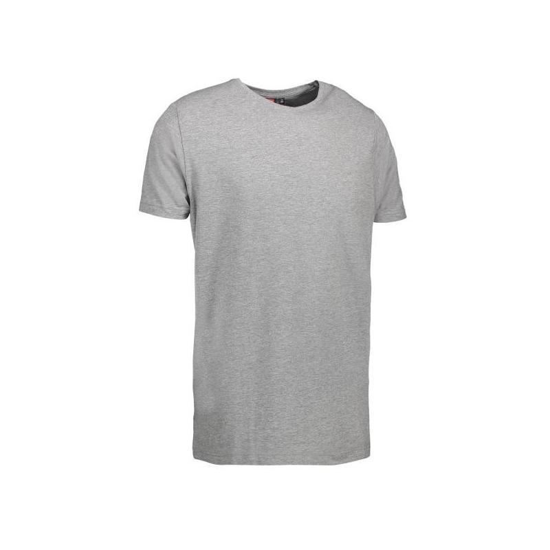 Stretch Herren T-Shirt 594 von ID / Farbe: hellgrau / 92% BAUMWOLLE 8% ELASTANE - | Wenn Kasack - Dann MEIN-KASACK.de |