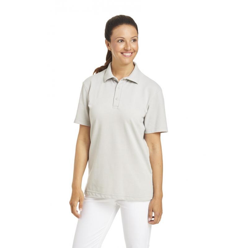 Poloshirt 2515 von LEIBER / Farbe: silbergrau / 50 % Baumwolle 50 % Polyester - | Wenn Kasack - Dann MEIN-KASACK.de | Ka