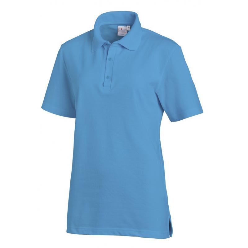 Poloshirt 2515 von LEIBER / Farbe: türkis / 50 % Baumwolle 50 % Polyester - | Wenn Kasack - Dann MEIN-KASACK.de | Kasack