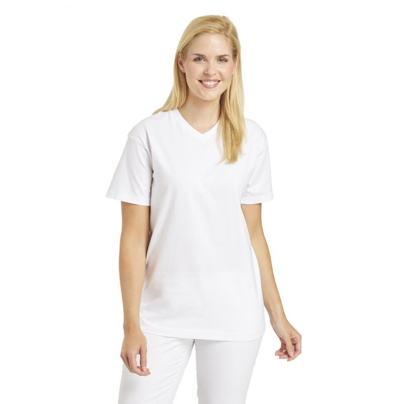 T-Shirt 2448 von LEIBER / Farbe: weiß / 100 % Baumwolle - | Wenn Kasack - Dann MEIN-KASACK.de | Kasacks für die Altenpfl