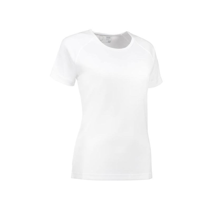 GAME Active Damen T-Shirt 571 von ID / Farbe: weiß / 100% POLYESTER -   MEIN-KASACK.de