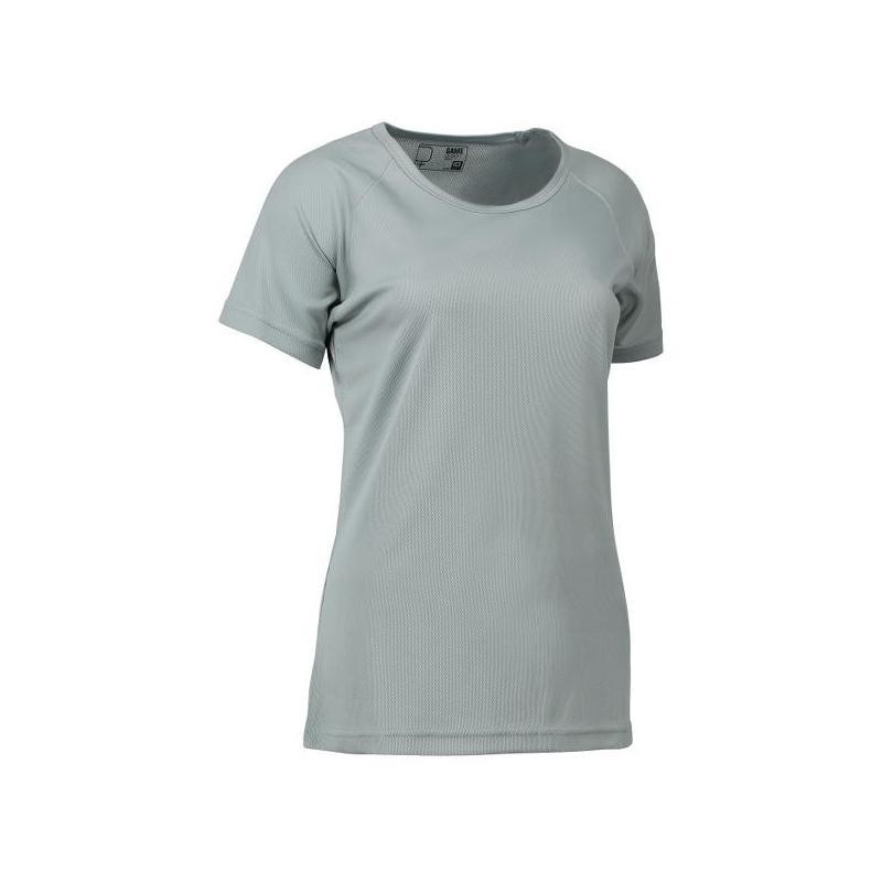 GAME Active Damen T-Shirt 571 von ID / Farbe: grau / 100% POLYESTER - | MEIN-KASACK.de