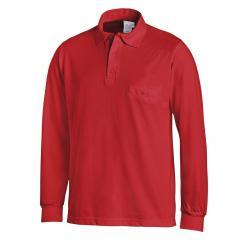 Poloshirt 841 von LEIBER / Farbe: rot / 50 % Baumwolle 50 % Polyester - | MEIN-KASACK.de | kasack | kasacks | kassak | b