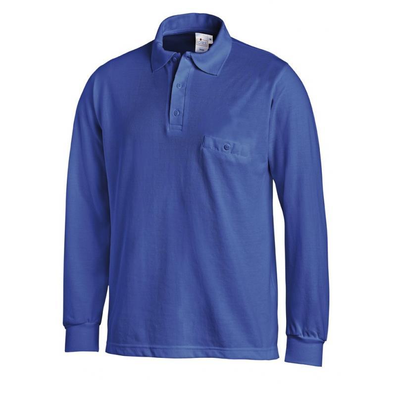 Poloshirt 841 von LEIBER / Farbe: königsblau / 50 % Baumwolle 50 % Polyester - | Wenn Kasack - Dann MEIN-KASACK.de | Kas
