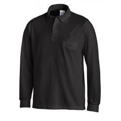 Poloshirt 841 von LEIBER / Farbe: schwarz / 50 % Baumwolle 50 % Polyester - | Wenn Kasack - Dann MEIN-KASACK.de | Kasack