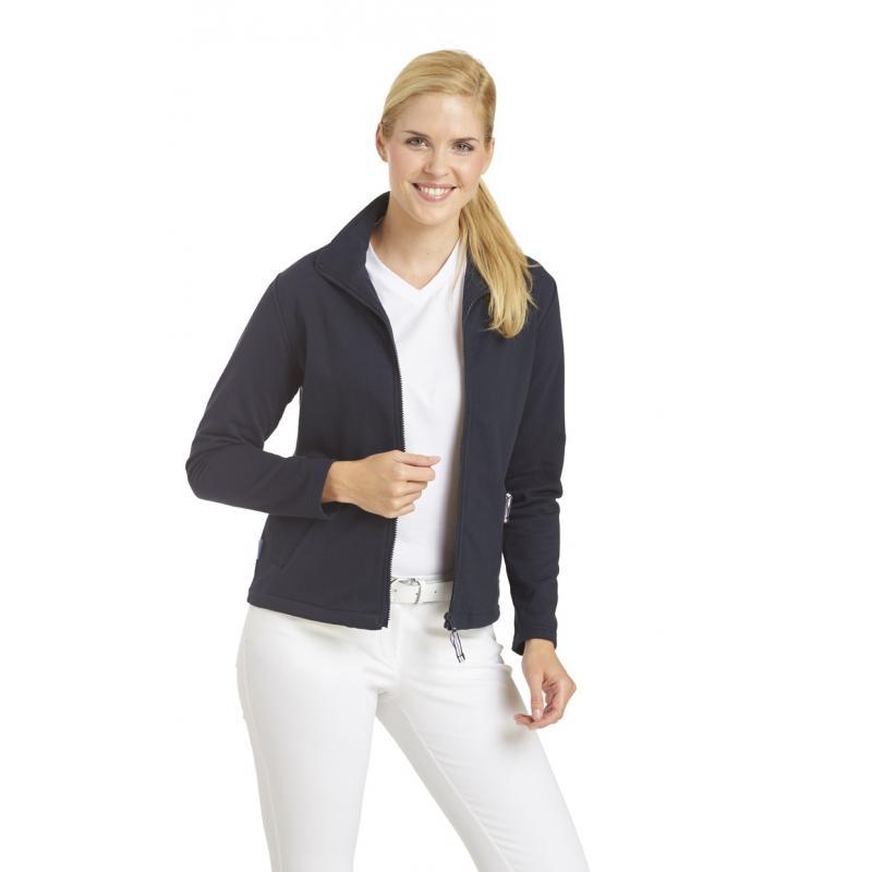 Sweatjacke (Damen) 1059 von LEIBER / Farbe: marine / 50 % Baumwolle 50 % Polyester -   Wenn Kasack - Dann MEIN-KASACK.de