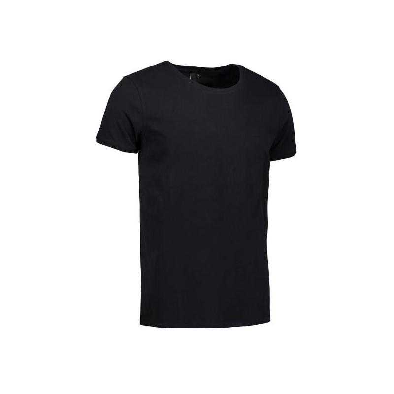 CORE O-Neck Tee Herren T-Shirt 540 von ID / Farbe: schwarz / 100% BAUMWOLLE - | Wenn Kasack - Dann MEIN-KASACK.de | Kasa