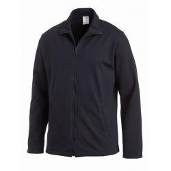 Sweatjacke (Herren) 1095 von LEIBER / Farbe: marine / 50 % Baumwolle 50 % Polyester - | MEIN-KASACK.de | kasack | kasack