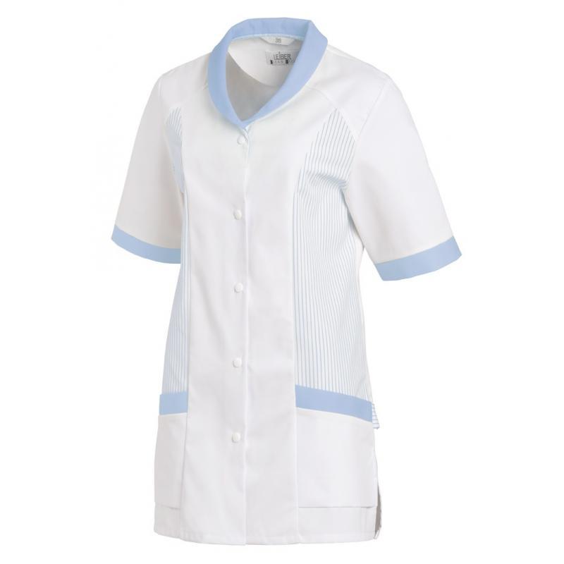 Damen -  Hosenkasack 800 von LEIBER / Farbe: weiß-blau / 65 % Polyester 35 % Baumwolle - | MEIN-KASACK.de