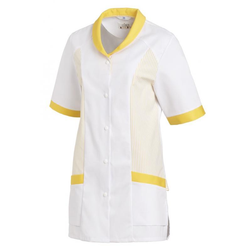 Hosenkasack 800 von LEIBER / Farbe: weiß-gelb / 65 % Polyester 35 % Baumwolle - | Wenn Kasack - Dann MEIN-KASACK.de | Ka