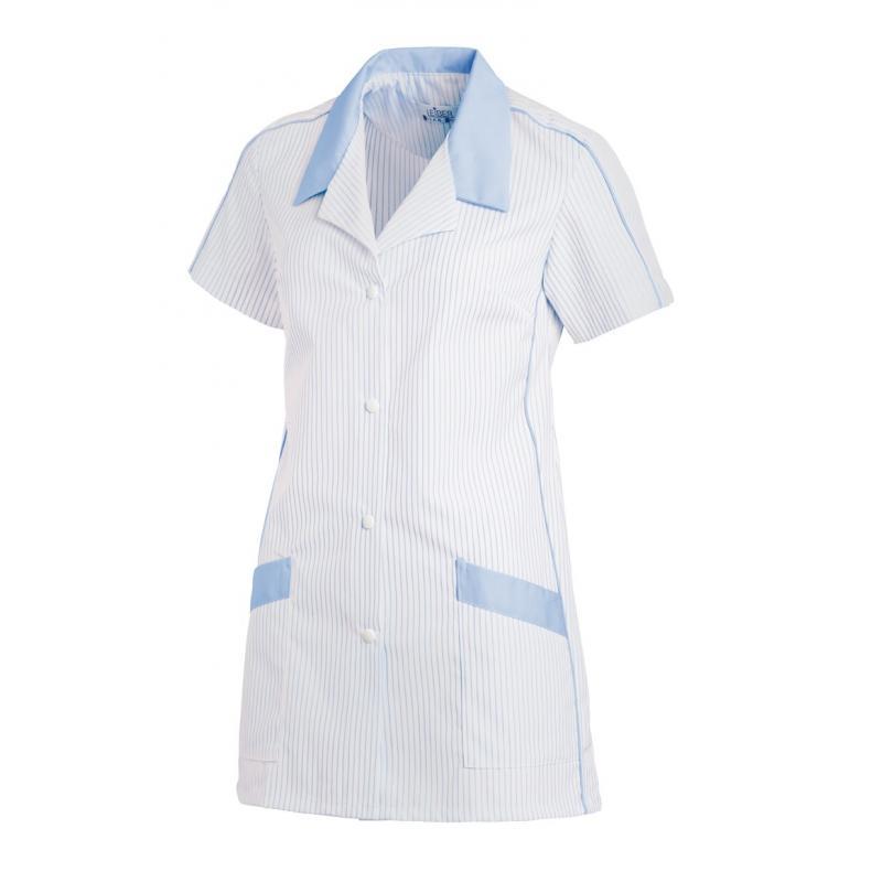 Hosenkasack 559 von LEIBER / Farbe: weiß-hellblau / 65 % Polyester 35 % Baumwolle - | Wenn Kasack - Dann MEIN-KASACK.de