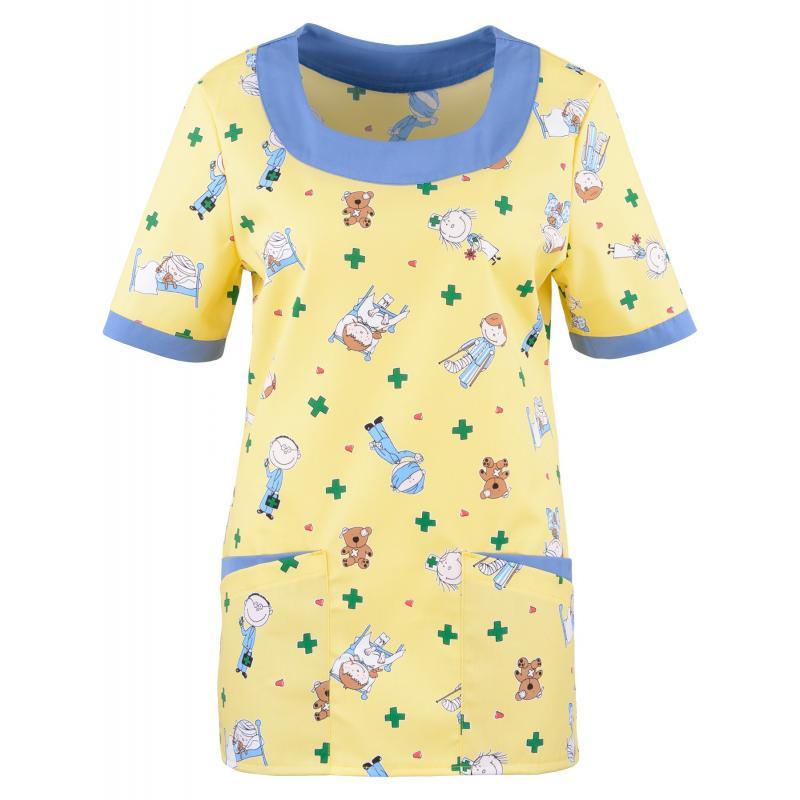 Heute im Angebot: PRO Wear Damen T-Shirt 312 von ID / Farbe: hellgrau / 60% BAUMWOLLE 40% POLYESTER jetzt günstig kaufen - BERUFSBEKLEIDUNG MEDIZIN - KASACK von BEB - PFLEGEBEKLEIDUNG - PFLEGEKLEIDUNG - BERUFSBEKLEIDUNG PFLEGE