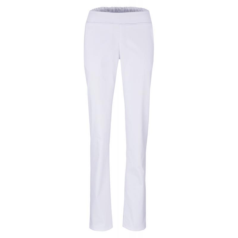 Damenhose 2447 von BEB / Farbe: weiß / Stretchgewebe - 49% Baumwolle 48% Polyester 3% Elasthan -   Wenn Kasack - Dann ME