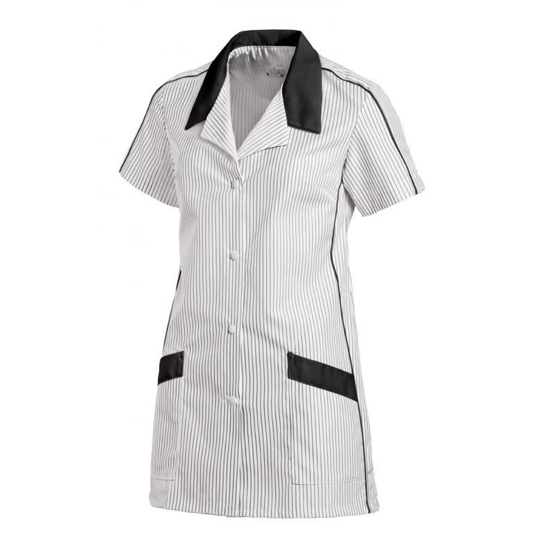 Damen -  Hosenkasack 559 von LEIBER / Farbe: weiß-schwarz / 65 % Polyester 35 % Baumwolle - | MEIN-KASACK.de | kasack |