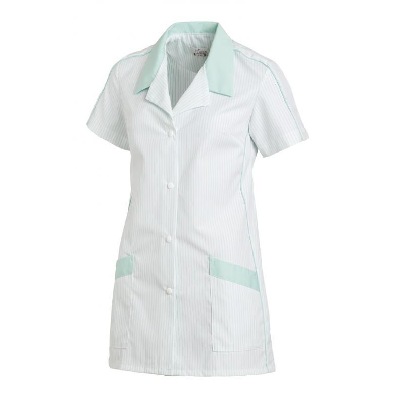 Damen -  Hosenkasack 559 von LEIBER / Farbe: weiß-mint / 65 % Polyester 35 % Baumwolle -   MEIN-KASACK.de