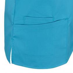 Damen -  Kasack 2369 von BEB / Farbe: dunkeltürkis / 49% Baumwolle 48% Polyester 3% Elastolefin - | MEIN-KASACK.de | kas